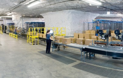 GoPET Goes Subterranean At Hallmark Distribution Center